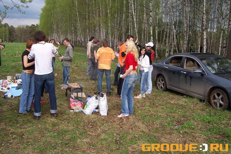 шашлык на природе с друзьями фото